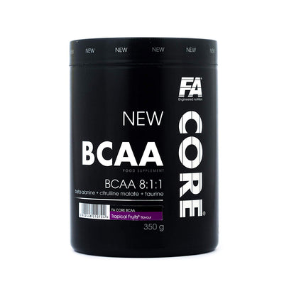 FA BCAA 8:1:1 STRAWBERRY CACTUS 350 GMS) - Muscle & Strength India - India's Leading Genuine Supplement Retailer