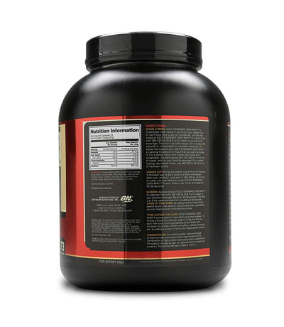 ON GOLD STANDARD 100% WHEY VANILLA ICE CREAM 5 LBS