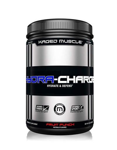 KAGED MUSCLE HYDRA CHARGE 60 SERVINGS FRUIT PUNCH