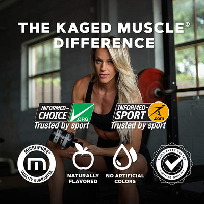KAGED MUSCLE GLUTAMINE POWDER 300GM