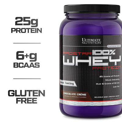 Ultimate Nutrition Prostar 100 Percent Whey Protein, 2 lb
