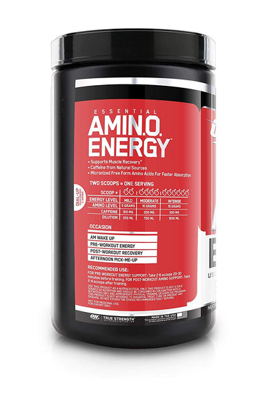 ON ESSENTIALS AMINO ENERGY 30 SERVING STRAWBERRY LIME
