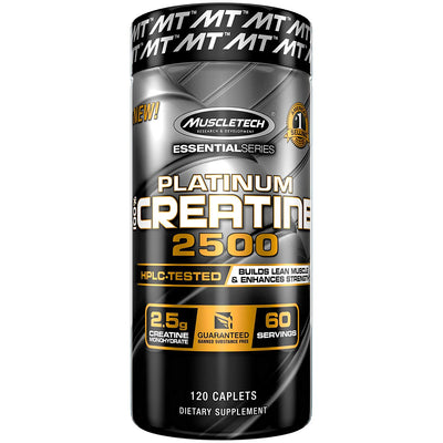 MT 100% PLATINUM CREATINE 2500  120 CAP