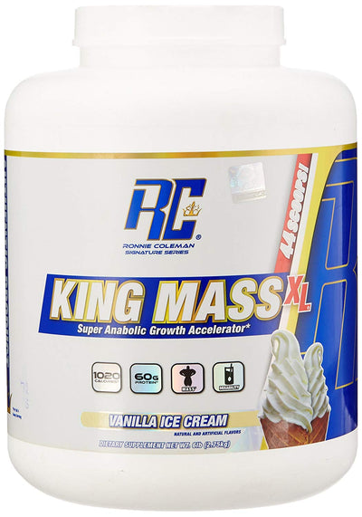 RC KING MASS 6 LBS VANILLA ICE CREAM