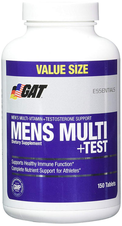 GAT MENS MULTI + TEST 150 TABLETS