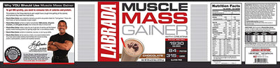 LABRADA MUSCLE MASS GAINER 6 LBS CHOCOLATE