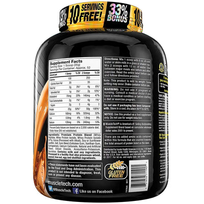 MUSCLETECH NITROTECH ISOLATE 4LB DBL RICH CHOCOLATE