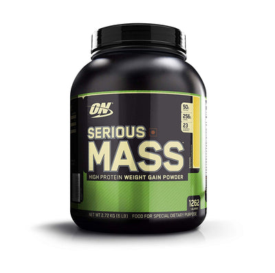 Optimum Nutrition ON Serious Mass - 6 Lbs Banana