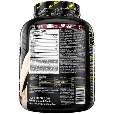 MUSCLETECH PERF SERIES PHASE 8 COOKIES & CREAM