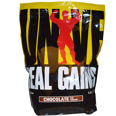 UNIVERSAL REAL GAIN 6.85 LB CHOCOLATE ICECREAM