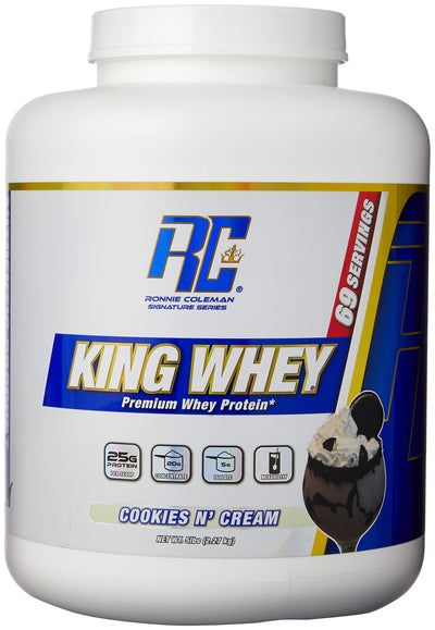 RC KING WHEY 5 LB COOKIES & CREAM