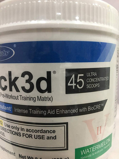USP LABS JACKED 3D WATERMELON 230GM