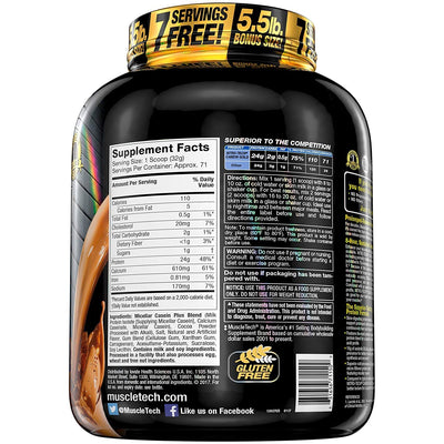 MUSCLETECH NITROTECH CASEIN GOLD 5LB CHOCOLATE SUPREME