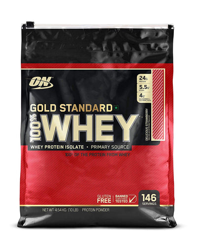 ON WHEY PROTIEN ISOLATE DELICIOUS  STRAWABERRY 10LBS
