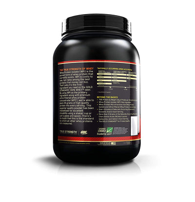 ON GOLD STD. 100% WHEY 2 LBS Double rich chocolate