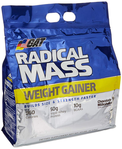 GAT REDICAL MASS 10 LBS CHOCOLATE MILKSHAKE