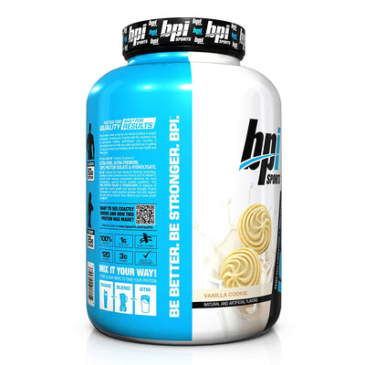 BPI SPORTS ISO HD 5.1 LBS VANILLA COOKIE