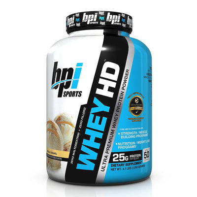 BPI SPORTS WHEY HD 4.1 LBS VANILLA CARAMEL