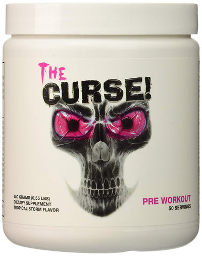 COBRA LABS THE CURSE 250GM  50 SERVINGS TROPICAL STORM