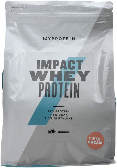 MY PROTEIN IMPACT WHEY PROTEIN STARWBERRY CREAM 2.5KG