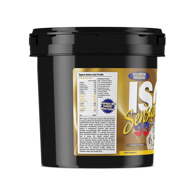 ULTIMATE NUTRITION ISO SENSATION 5 LBS COOKIES & CREAM