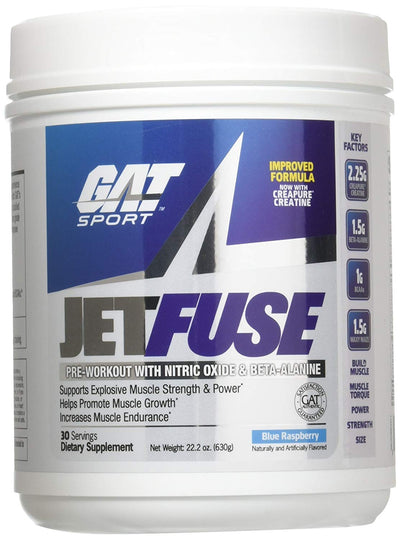GAT SPORT JETFUSE BLUE RASPBERRY 30SERVINGS