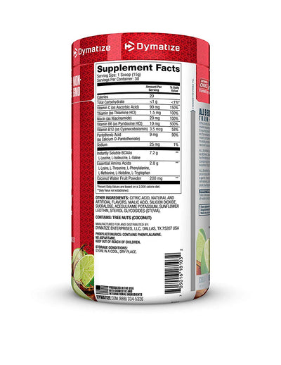 Dymatize All 9 Amino 30 Servings Cola Lime Twist