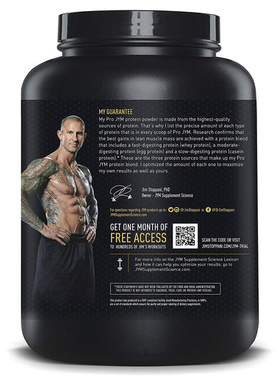 JYM Pro Protein 46 serving Chocolate Mousse 4 lbs