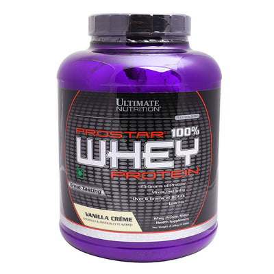 ULTIMATE NUTRITION PROSTAR 100% WHEY 5.28 LBS VANILLA CREAM - Muscle & Strength India - India's Leading Genuine Supplement Retailer