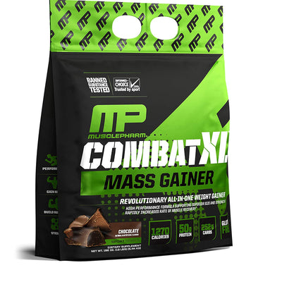 MP COMBAT XL MASS GAINER CHOCOLATE 12 LB