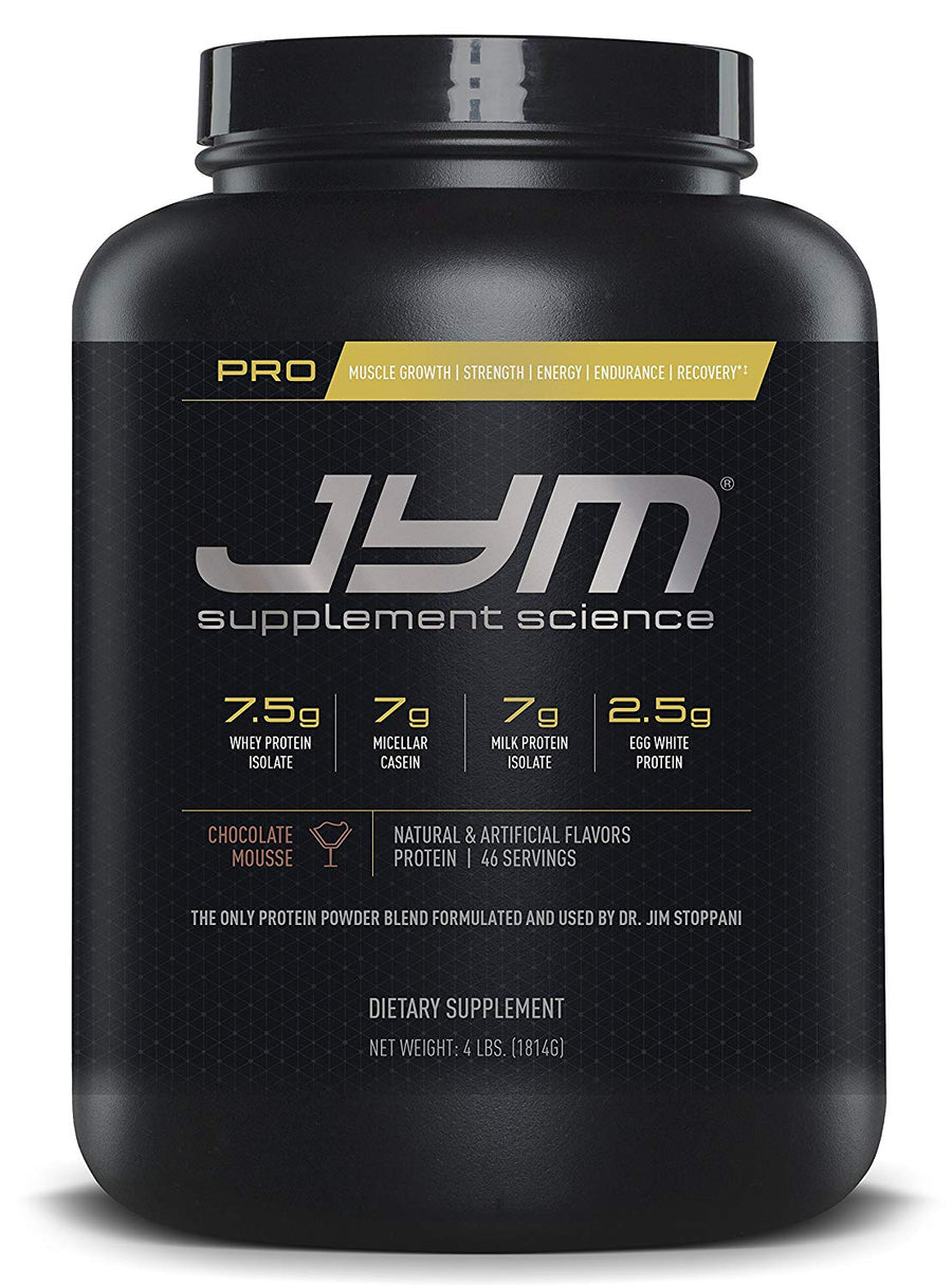 faf302e5c JYM Pro protein 46 serving chocolate mousse 4 lbs