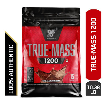 BSN TRUE-MASS® 1200 10.38 LBS CHOCOLATE MILKSHAKE