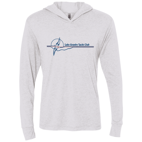 LGYC blue logo Unisex Long Sleeve Hooded T-Shirt