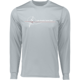 LGYC white logo Long Sleeve Wicking T-Shirt