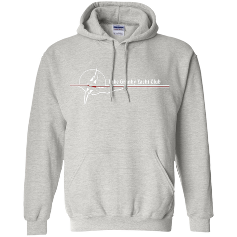 LGYC white logo Pullover Hoodie
