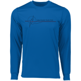 LGYC blue logo 788 Augusta LS Wicking T-Shirt