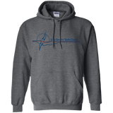 LGYC blue logo Pullover Hoodie