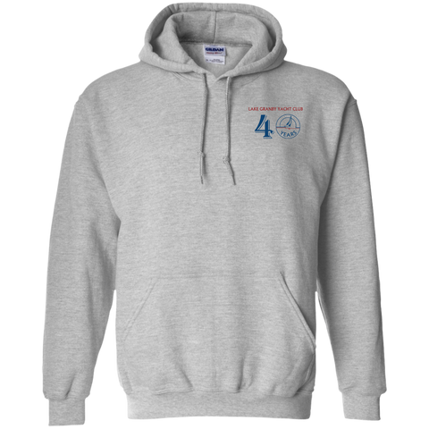 40 graphic G185 Gildan Pullover Hoodie 8 oz.