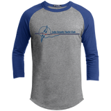 LGYC blue logo Mens Baseball T-Shirt