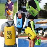 Waterproof Dry Bag, assorted sizes and colors