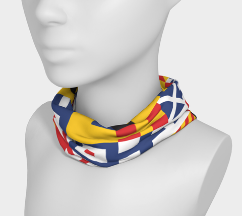 Nautical Flag Neck Gaiter