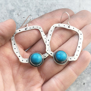 Think Outside the Box Earrings
