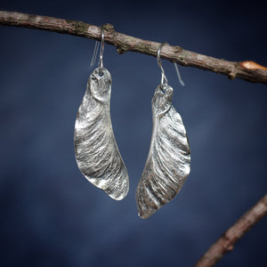 Samara Maple Seed Earrings