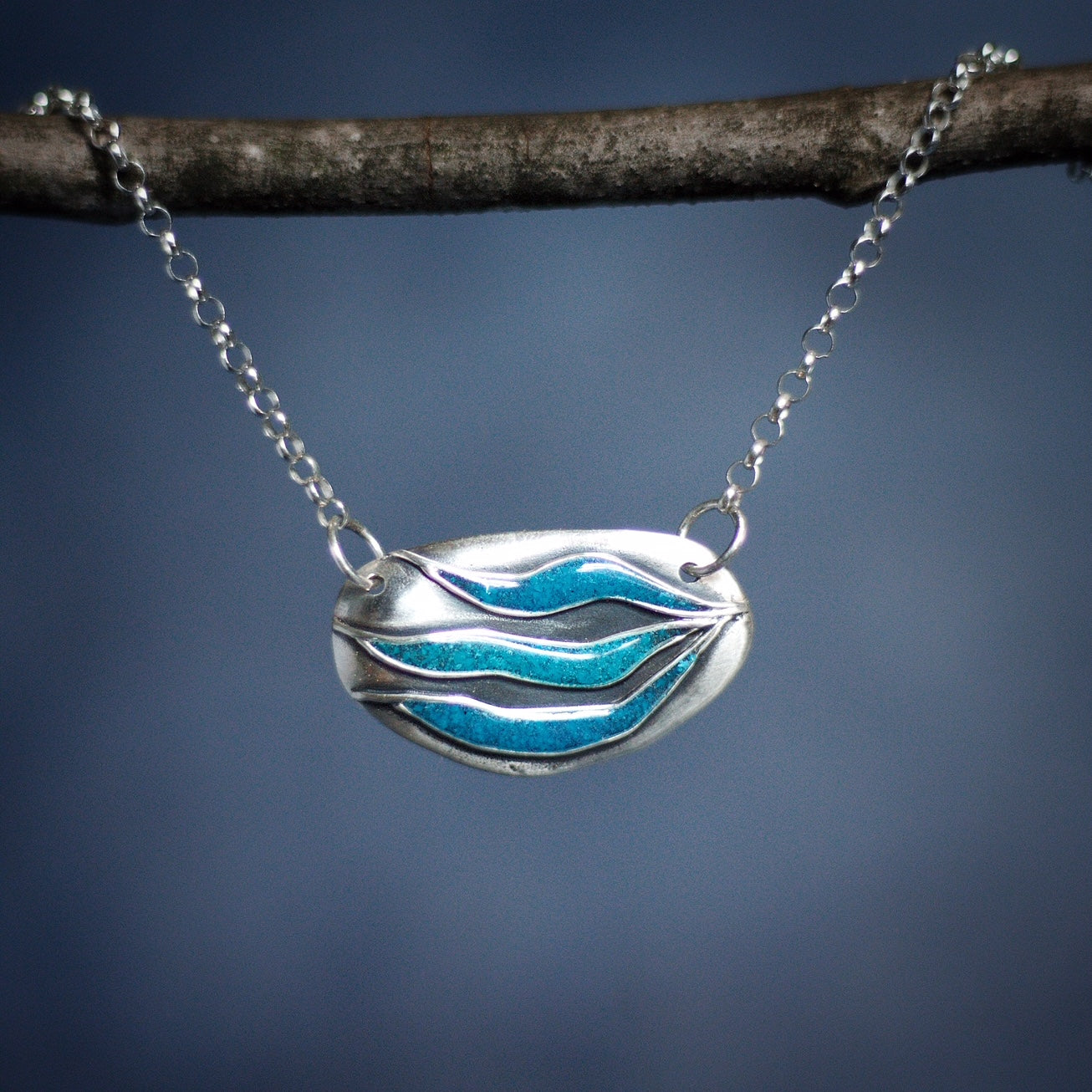 Sea Stone Necklace