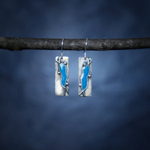 Turquoise Creek Earrings