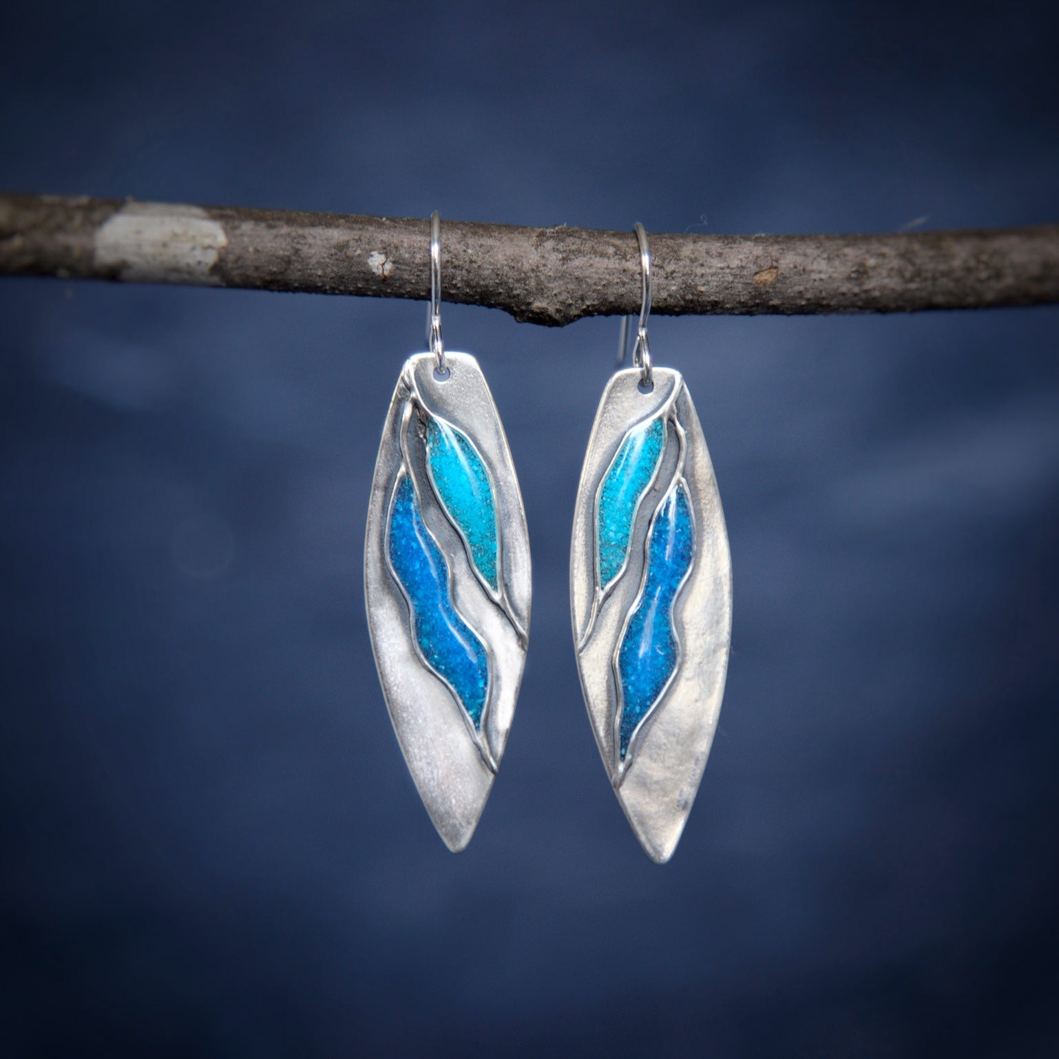 Gentle Current Earrings