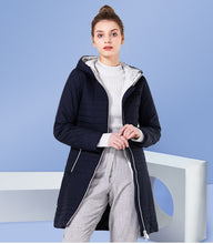 Load image into Gallery viewer, 2019 Long Cotton Hooded Fashion Coat