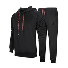 Load image into Gallery viewer, Men Hooded Tracksuit Set