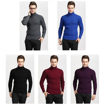 Load image into Gallery viewer, Winter Thick Warm Cashmere Slim Fit Turtleneck Sweater