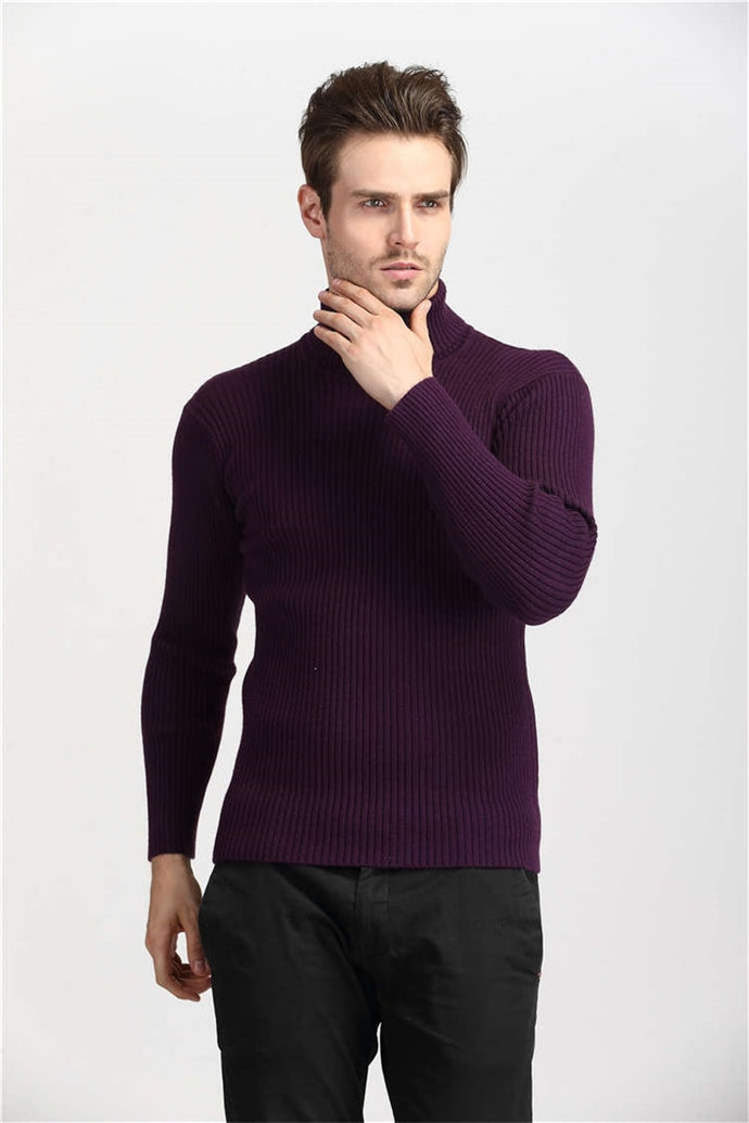 Winter Thick Warm Cashmere Slim Fit Turtleneck Sweater